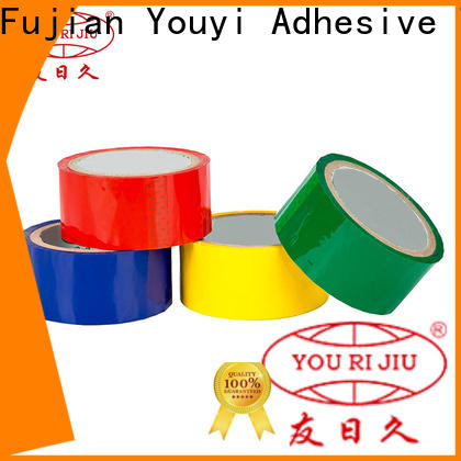 good quality colored tape high efficiency for decoration bundling