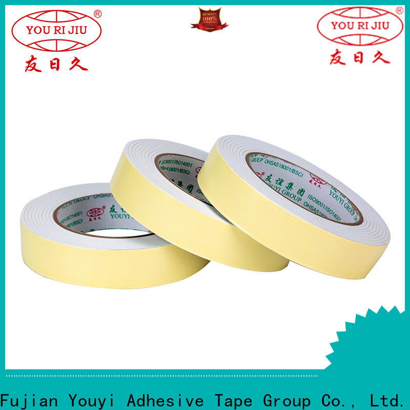 Yourijiu aging resistance double side tissue tape manufacturer for office