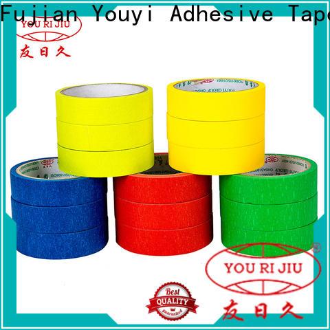 Yourijiu good chemical resistance paper masking tape supplier for bundling tabbing