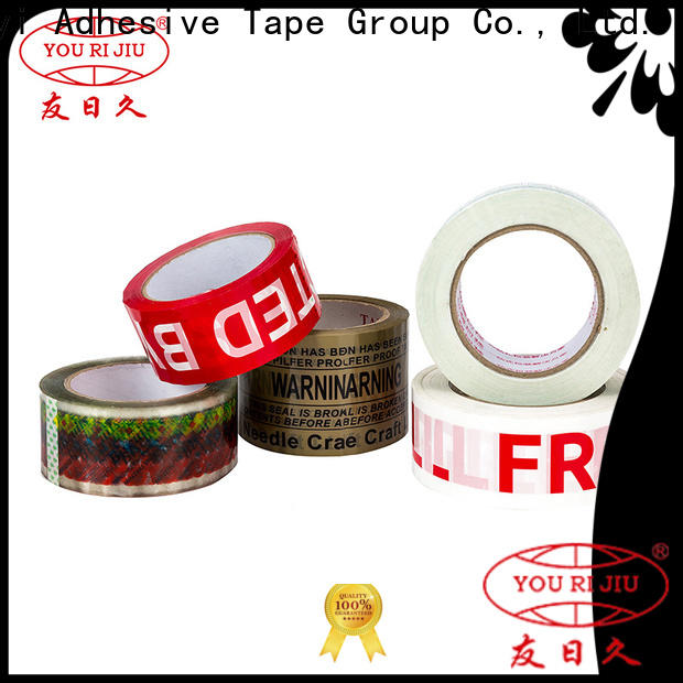Yourijiu bopp stationery tape high efficiency for auto-packing machine