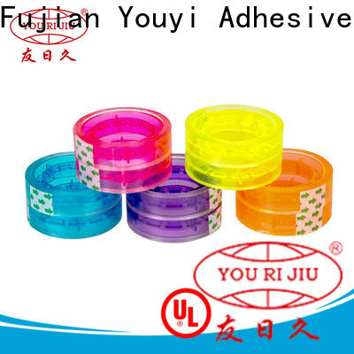 odorless bopp stationery tape anti-piercing for carton sealing
