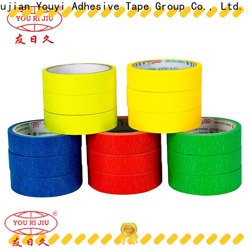 Yourijiu high temperature resistance masking tape wholesale for home decoration
