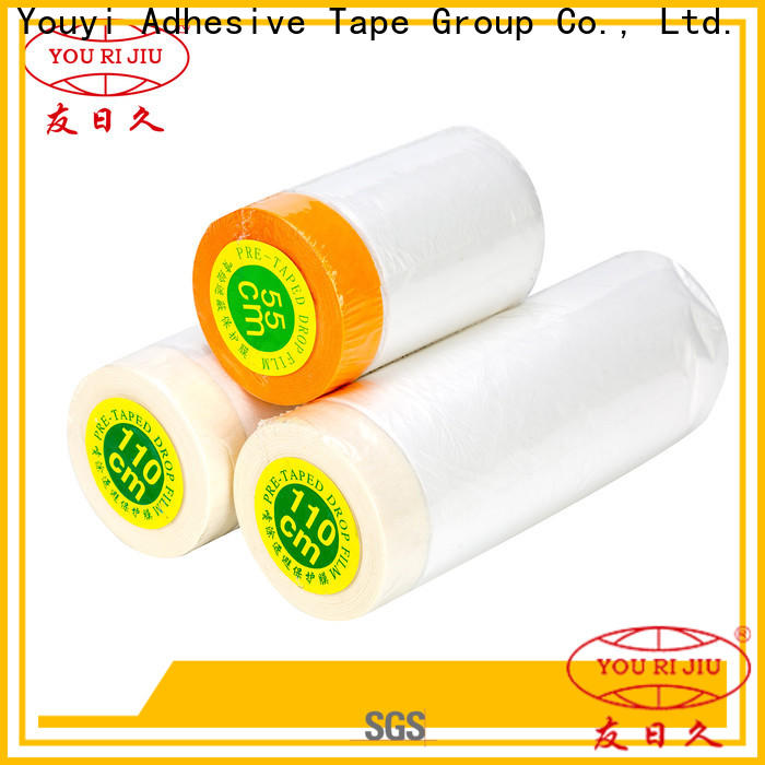 Yourijiu customized Pre-taped masking Film for household