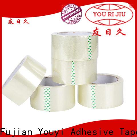 Yourijiu bopp packaging tape high efficiency for carton sealing