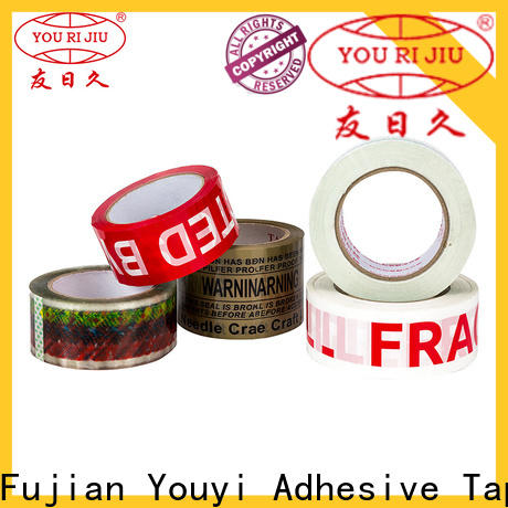 Yourijiu transparent bopp adhesive tape supplier for auto-packing machine