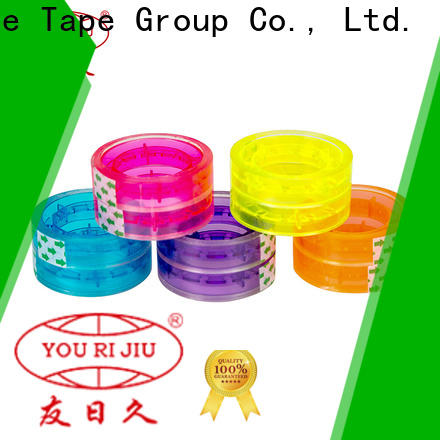 transparent bopp stationery tape factory price for gift wrapping