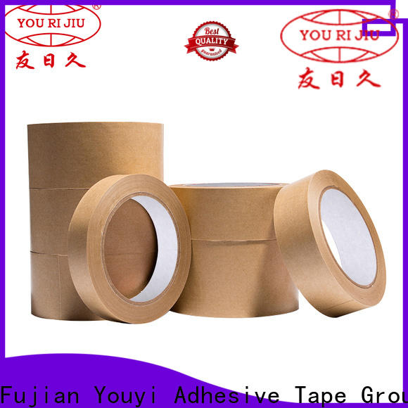 Yourijiu high quality kraft tape at discount for stationary