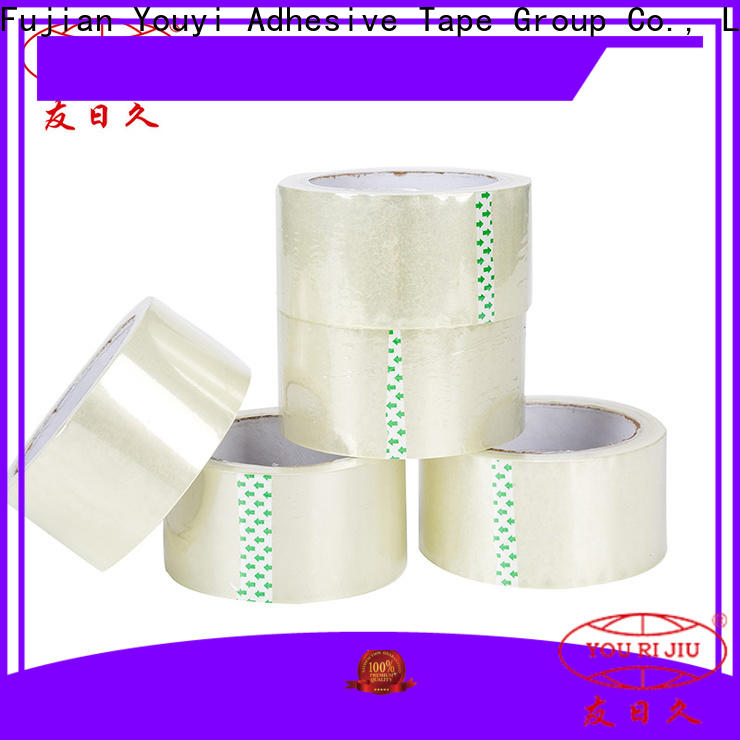 Yourijiu non-toxic bopp stationery tape supplier for auto-packing machine