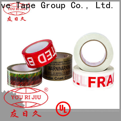 Yourijiu good quality colored tape anti-piercing for gift wrapping