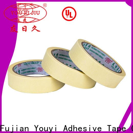 Yourijiu high temperature resistance masking tape price wholesale for bundling tabbing