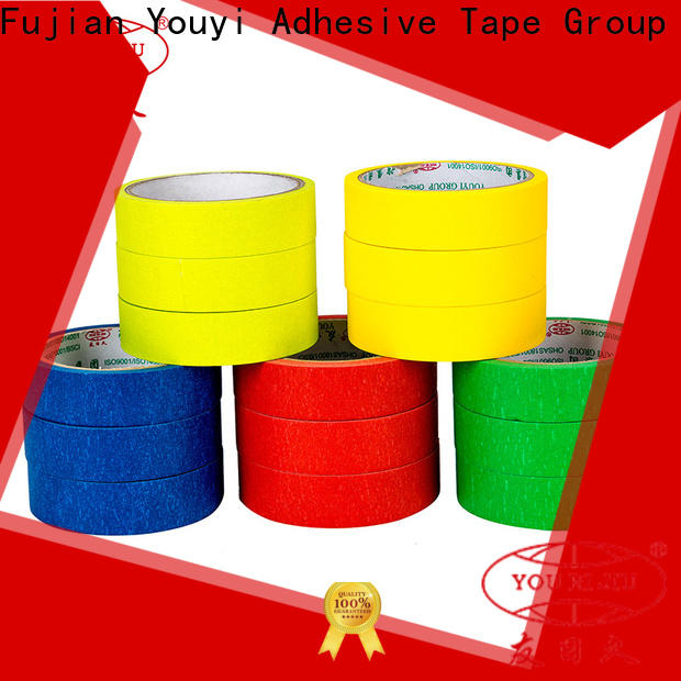 high temperature resistance paper masking tape directly sale for home decoration