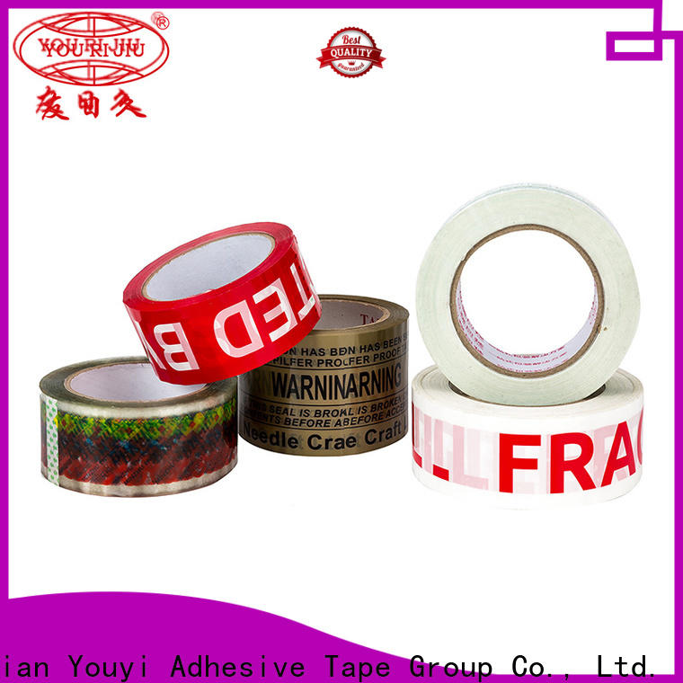 Yourijiu good quality colored tape anti-piercing for auto-packing machine
