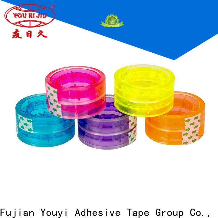 odorless colored tape factory price for gift wrapping