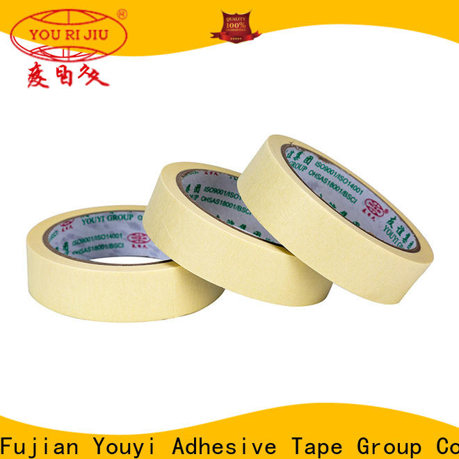 Yourijiu adhesive masking tape supplier for home decoration