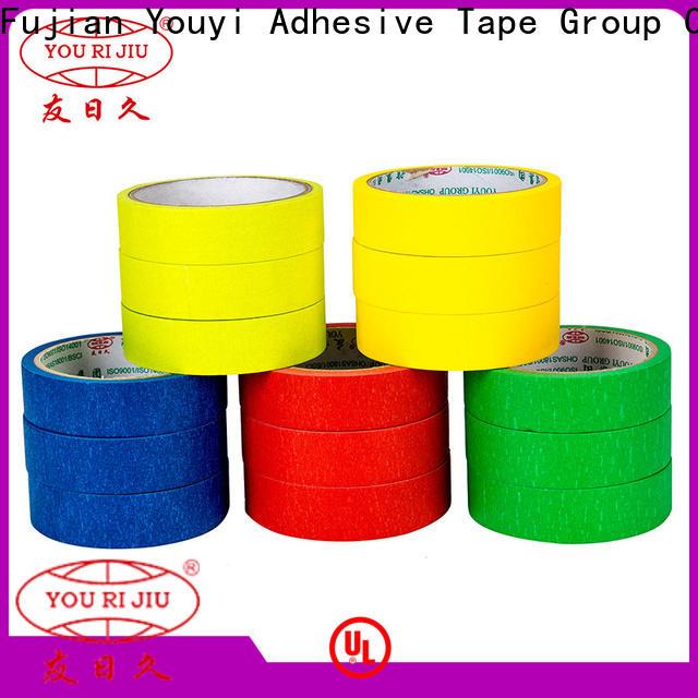 Yourijiu adhesive masking tape supplier for bundling tabbing
