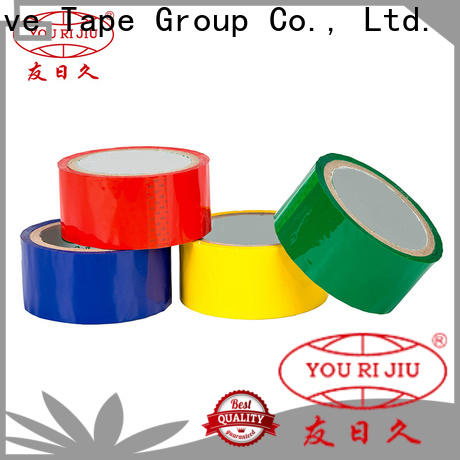 good quality colored tape factory price for strapping