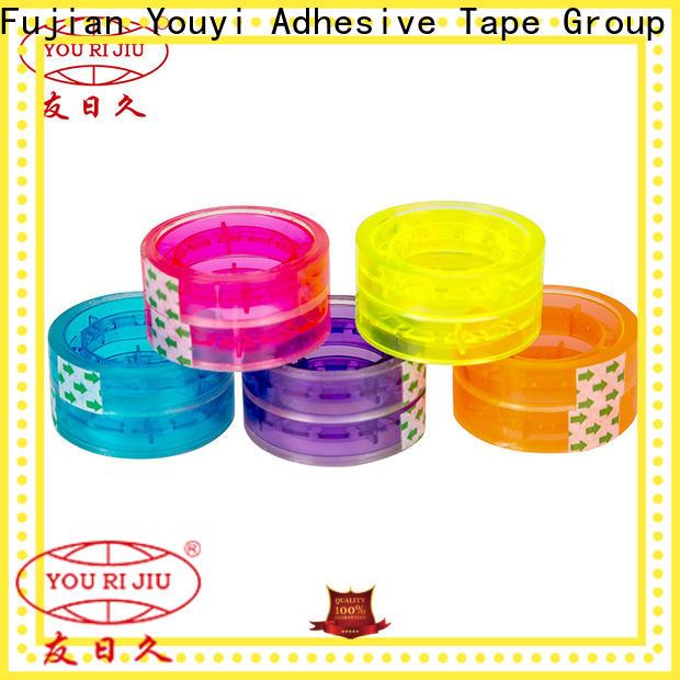 Yourijiu non-toxic bopp tape anti-piercing for auto-packing machine
