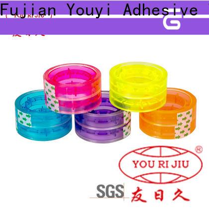 Yourijiu good quality bopp printed tape factory price for decoration bundling