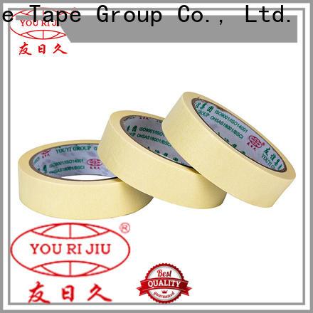 Yourijiu masking tape price directly sale for bundling tabbing