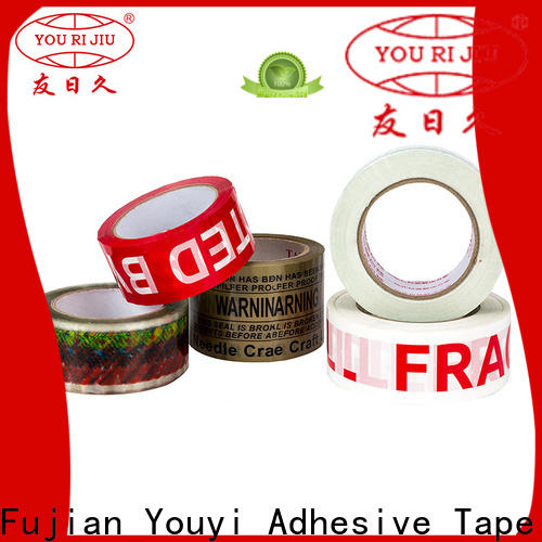 non-toxic colored tape anti-piercing for carton sealing
