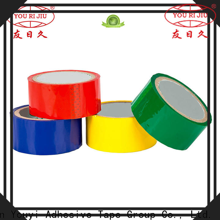 Yourijiu odorless clear tape supplier for auto-packing machine