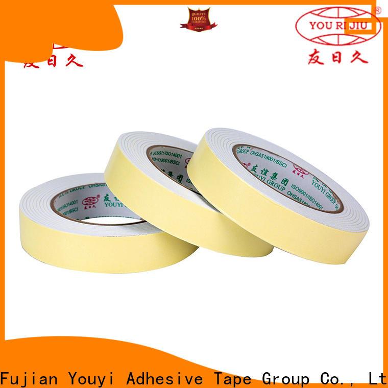 Yourijiu anti-skidding double sided eva foam tape promotion for office