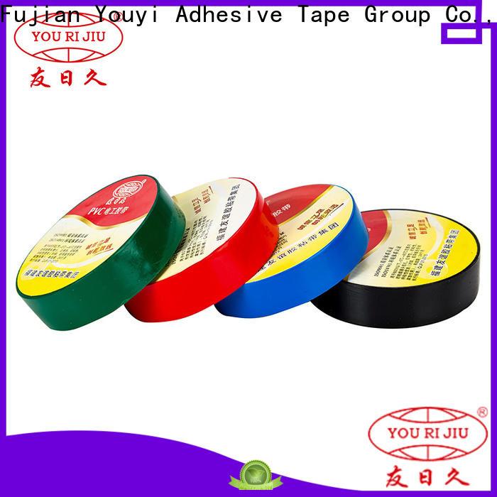 Yourijiu pvc electrical tape factory price for voltage regulators