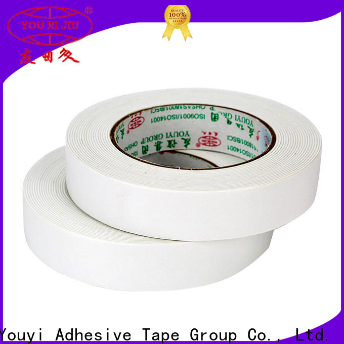 anti-skidding double sided foam tape promotion for food