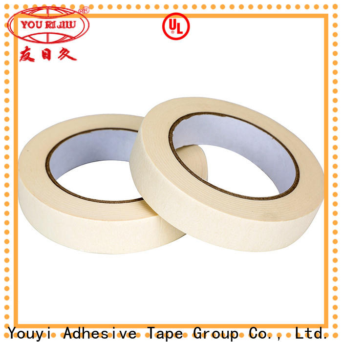 high adhesion paper masking tape wholesale for light duty packaging