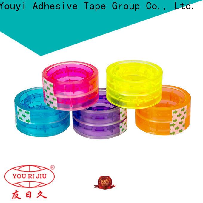 Yourijiu bopp adhesive tape factory price for decoration bundling