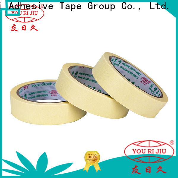 good chemical resistance masking tape price wholesale for light duty packaging