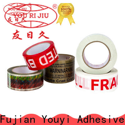 Yourijiu good quality bopp packaging tape high efficiency for auto-packing machine