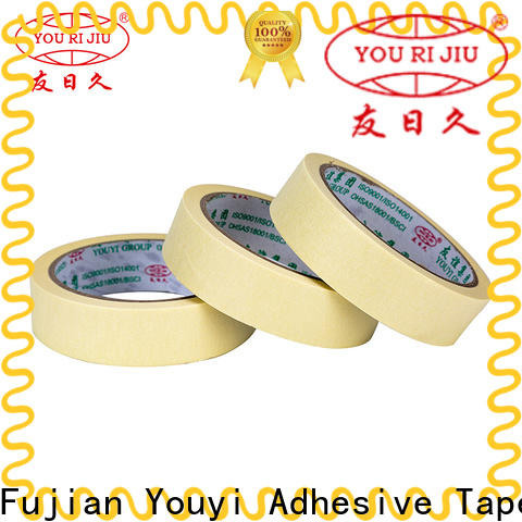 high temperature resistance masking tape price easy to use for bundling tabbing