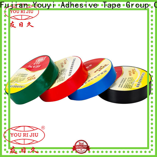 Yourijiu waterproof pvc adhesive tape supplier for insulation damage repair